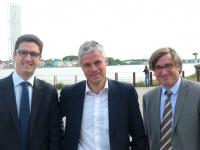 Benoît Stekr-Ridel, Laurent Wauquiez, François Pinte