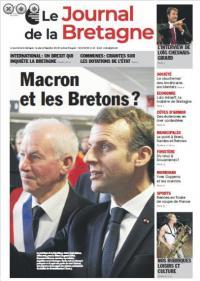 Le Journal de la Bretagne en Kiosque mercredi la maquette de la une