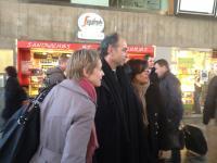 Jean François Copé, venu soutenir Laurence Garnier UMP à Nantes, a été