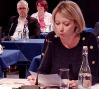 Claire  Schweitzer élue LFI à Angers