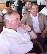 Gatien Meunier ici avec François Pinte