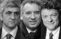 Hervé Morin, François Bayrou, Jean-Louis Borloo