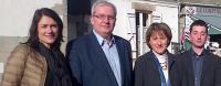 Xavier Bruckert était candidat pour le canton de Guérande pour les Départementales 2015