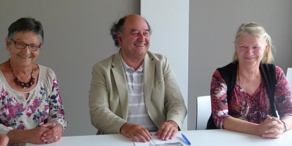 Marie-Pierre Falcon, Claude Caudal, Liliane Sager