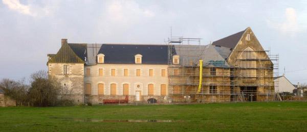 abbaye de Blanche Couronne à La Chapelle Launay