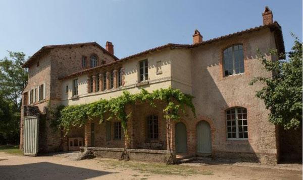 La maison du jardinier à la Garenne Lemot