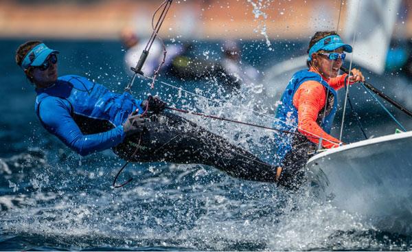 Camille Lecointre et Aloïse Retornaz Championnes d'Europe de 4,70