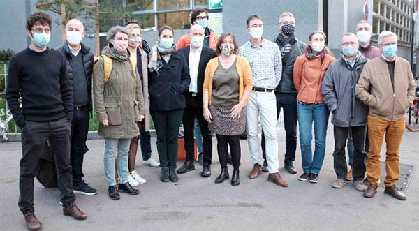 Les élu.e.s du groupe écologiste et citoyen – Nantes Métropole