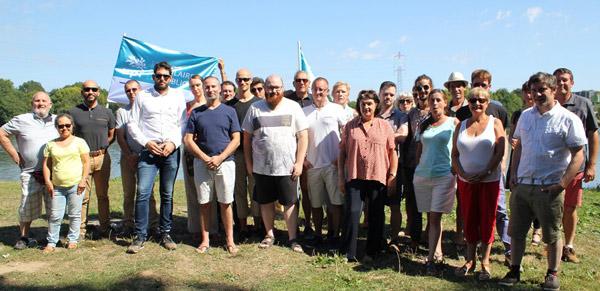 Les militants de l'UPR 44