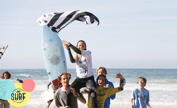 Illona Goasgen  Fédération Française de Surf