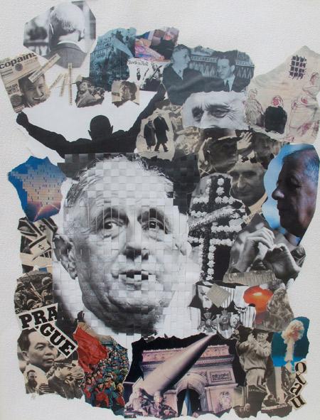Oeuvre d'artiste sur De Gaulle
