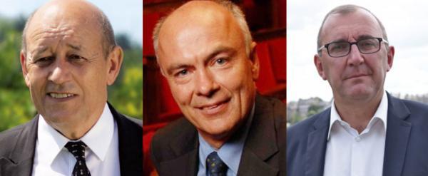 Jean-Yves Le Drian, Marc Le Fur,Gilles Penelle