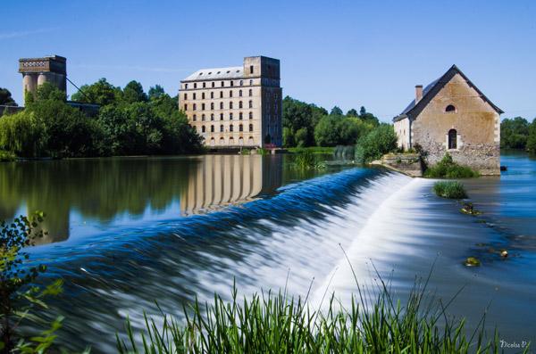 Le moulin à eau Morannes 49 © Nicolas Palvadeau