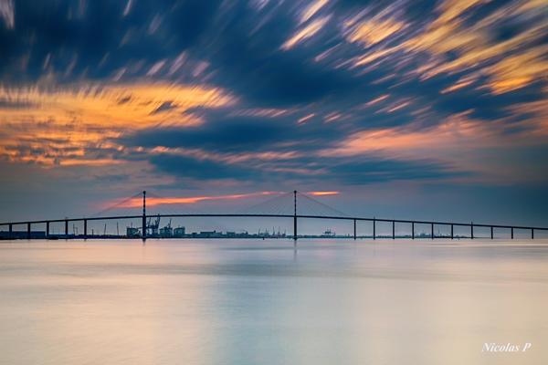 Le pont de Saint-Nazaire © Nicolas Palvadeau