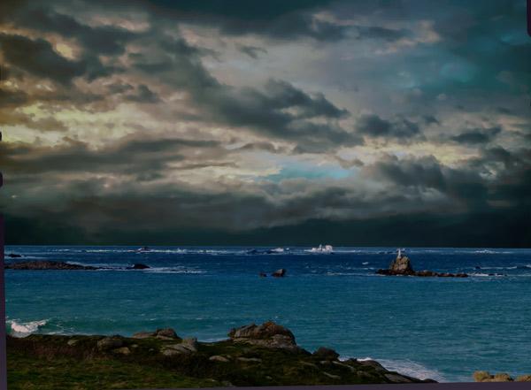 La tempête Bella s'annonce ici à Landunvez Finistère  ©I&I