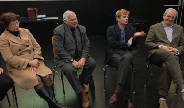 Josette Emonides, François Xavier Delcamp, Marc Fresneau,  Xavier Bruckert