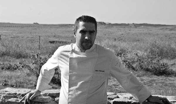 Julien Marseault le restaurant du Château de Sable à Porspoder