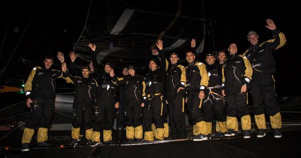 L'équipage de Spindrift 2