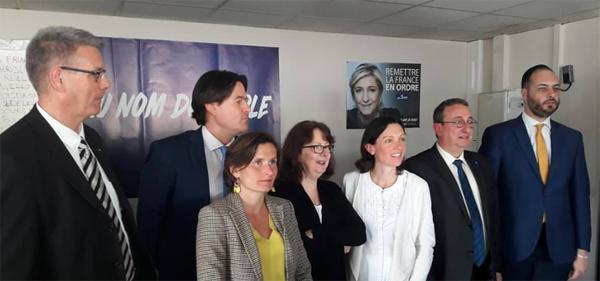 Jean Luc Javel, Eléonore Revel ,David Boisdron, Brigitte Nedellec, Alain Avello,Agnès Chrissement,Gauthier Bouchet