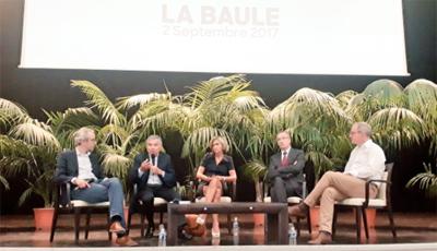 Bernard Accoyer et Valérie Pécresse à La Baule