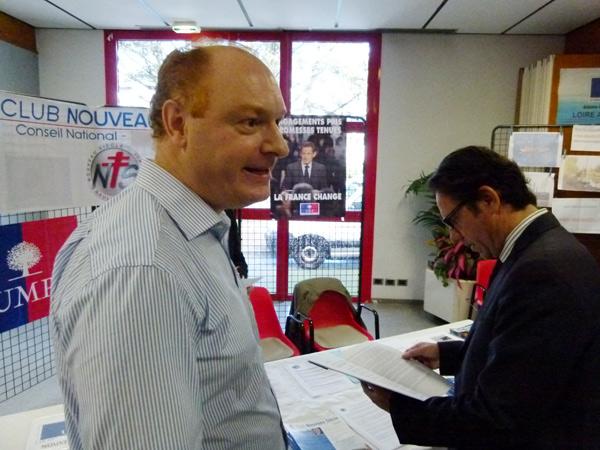 Jérémie Rabiller (Pornichet) évoque le Club Nouveau Siècle avec Frédéric Lefebvre