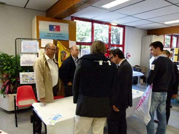 Philippe Freche et David Pellon 8e circonscription