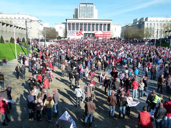 8 000 manifestants à Brest