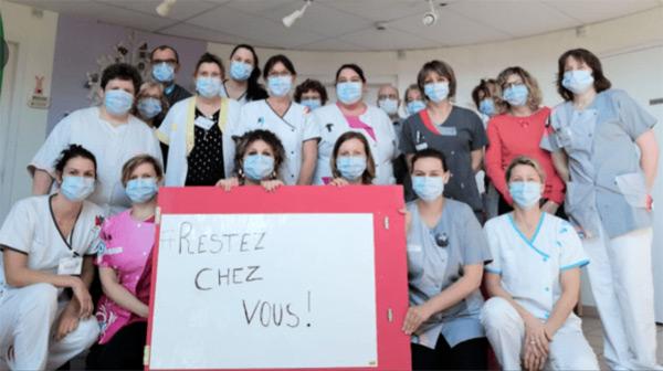 Les infirmières du CHRU de Brest  BRAVO
