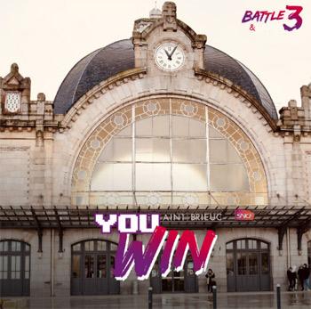 La gare de Saint-Brieux représente la Bretagne