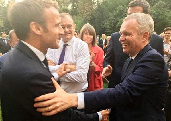 Emmanuel Macron, François de Rugy