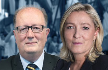 Pascal Gannat, Marine Le Pen