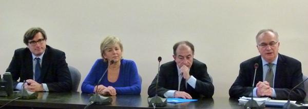 François Pinte, Sophie Jozan, Laurent Dejoie, Gatien Meunier