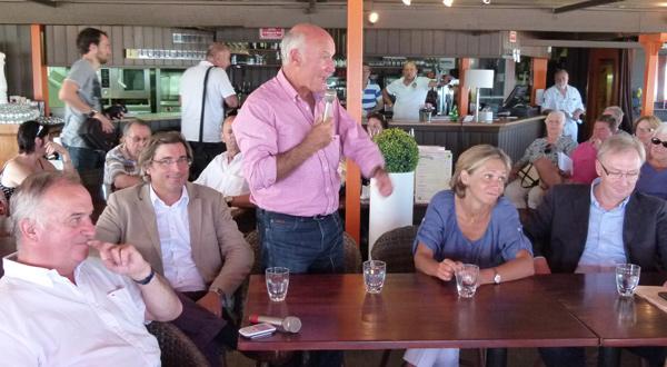 Gatien Meunier, François Pinte, Yves Métaireau, Valérie Pécresse, Christophe Priou.
