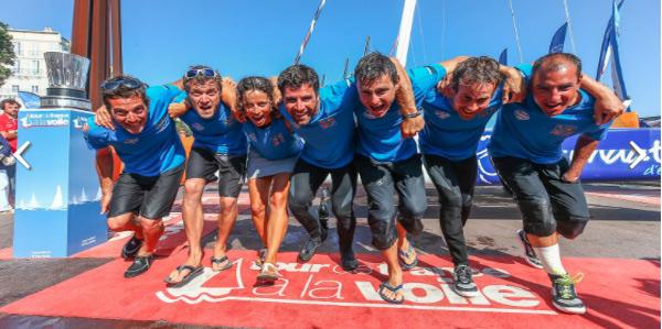 Fondation FDJ – Des Pieds et Des Mains vainqueurs Tour de France à la Voile 2017 photo Jean-Marie Liot