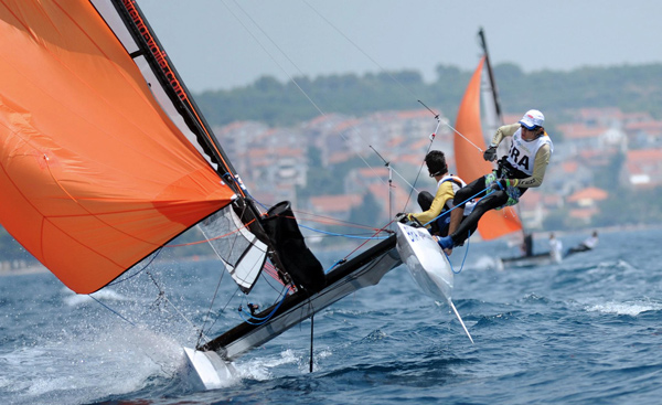 Cr�dit Photo ISAF Youth Sailing