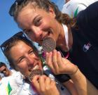 Championnat du monde de 470: Camille Lecointre et Aloïse Retornaz médaillées de bronze !