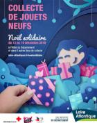 Collecte de jouets du 12 au 19 décembre dans 7 lieux du Département