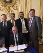 F.Louvrier à Matignon pour la signature du contrat de destination « Côte Atlantique »