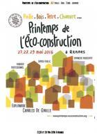 Le premier printemps de l'écoconstruction se tiendra à Rennes