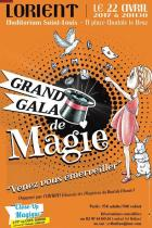 Lorient: Grand GALA de MAGIE de l'Amicale des Magiciens du Bout du Monde